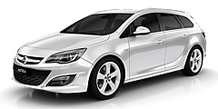 Astra Sports Tourer (P-J/SW/Facelift) 2012 - 2015