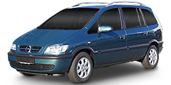 Zafira (T98MONOCAB) 2002 - 2005