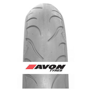 Avon Cobra Chrome 130/90 B16 74H (MT90B16) WSW, Front, RF